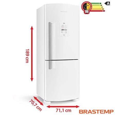 Refrigerador Inverse de 02 Portas Frost Free Brastemp Ative Smart Bar com 422 Litros Branco - BRE50NB, 110V, 220V, Branco, Freezer Invertido, 02 Portas, Não, De 351 a 500 litros, 422 Litros, 302 Litros, 120 Litros, Sim, Não, Sim, Não, Sim, Não, Não, Não, Sim, Não especificado, Não especificado, Não, Não, Sim, Não, A, 56 kWh/mês, 12 meses