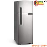 Refrigerador Clean de 02 Portas Frost Free Brastemp com 352 Litros Platinum - BRM39EK