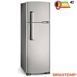Refrigerador de 02 Portas Frost Free Brastemp Clean com 378 Litros Platinum - BRM42EK