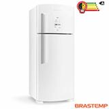 Refrigerador de 02 Portas Frost Free Brastemp com 403 Litros Branco - BRM48NB
