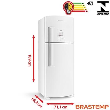 Refrigerador de 02 Portas Frost Free Brastemp Ative com 429 Litros Branco - BRM50NB, 110V, 220V, Branco, 02 Portas, 02 Portas, Não, De 351 a 500 litros, 429 Litros, 329 Litros, 100 Litros, Sim, Sim, Sim, Sim, Sim, Não, Não, Sim, Sim, 04, Vidro temperado removíveis, Sim, Não, Sim, Sim, A, 56 kWh/mês, 12 meses