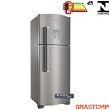 Refrigerador de 02 Portas Brastemp Frost Free 429 Litros Smart Ice e Smart Bar Platinum - BRM50NK