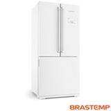 Refrigerador Side Inverse de 03 Portas Brastemp com 540 Litros Branca - BRO80AB