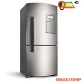 Refrigerador Inverse Maxi de 02 Portas Frost Free Brastemp com 565 Litros Inox - BRV80