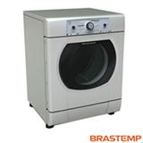 Secadora de Roupas de Piso Elétrica Brastemp com 20 Programas de Secagem 10 Kg Prata - BSX10AR