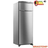 Freezer Vertical Brastemp Flex de 228 Litros Frost Free em Evox cor Inox- BVR28MK