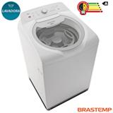 Lavadora de Roupas Brastemp 15kg Double Wash Branco com 07 Programas de Lavagem e Enxague Anti Alérgico - BWD15AB