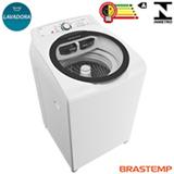 Lavadora de Roupas 11,5 Kg Ative Brastemp com 5 Programas de Lavagem Branca - BWG12AB