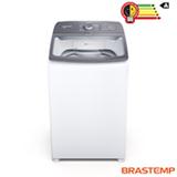 Lavadora de Roupas Brastemp 14Kg Branco com 03 Programas de Lavagem e Filtro Elimina Fiapos - BWK14AB