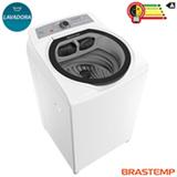 Lavadora de Roupas Brastemp 12 Kg Branca com 07 Programas de Lavagem e Funcao Agua Quente - BWQ12AB