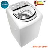 Lavadora de Roupas Brastemp 11kg Branca com 5 Programas de Lavagem e Diluição Anti-manchas - BWS11AB