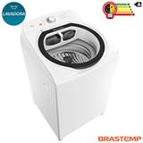 Lavadora de Roupas Brastemp 12 Kg Branca com 07 Programas de Lavagem e Filtro Elimina Fiapos - BWT12AB