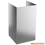 Kit Chaminé Brastemp para Coifa de Parede Vitreous - W10802743