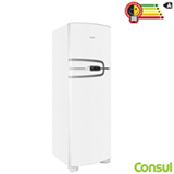 Refrigerador de 02 Portas Consul Frost Free com 275 Litros com Função Tubo Branco - CRM35NB