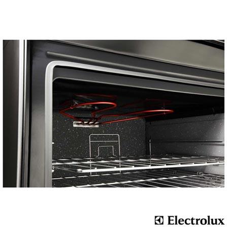 Fogão de Piso 5 Bocas com Duplo Forno Electrolux 220V + Kit de Utensílios para Pizza 15 Peças Tramontina, 0