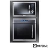 Forno Elétrico de Embutir Home Pro 80 Litros Inox OE9ST22089 - 220V + Micro-ondas de Embutir 28 Litros Inox MB38X - 220V