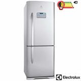 Refrigerador Bottom Freezer Electrolux de 02 Portas Frost Free com 454 Litros Painel Blue Touch Inox e Cinza - DB52X