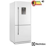 Refrigerador Bottom Freezer Invertido Electrolux de 02 Portas Frost Free com 598 Litros Painel Eletrônico Branco - DB84