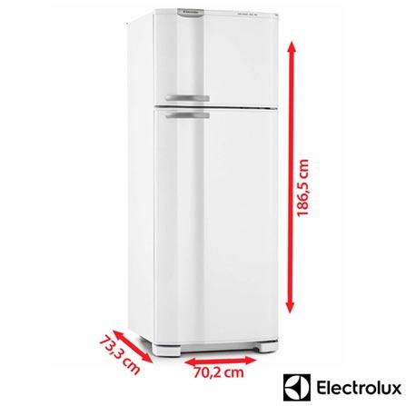 Refrigerador de 02 Portas Frost Free Electrolux Cycle Defrost com 462 Litros Branco - DC49A, 110V, 220V, Branco, 02 Portas, 02 Portas, Não, De 351 a 500 litros, 462 Litros, 347 Litros, 115 Litros, Sim, Não, Não, Sim, Não, Não, Não, Não, Não, 01, Removíveis, Não, Não, Não, Sim, A, 58,1 kWh/mês