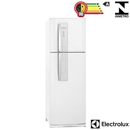 Refrigerador de 02 Portas Frost Free Electrolux com 382 Litros Branca - DF42, 110V, 220V, Branco, 02 Portas, 02 Portas, Não se aplica, De 141 a 350 litros, 382 Litros, 288 Litros, 94 Litros, Sim, Sim, Sim, Sim, Não, Não se aplica, Não, Não, Não, 01, Vidro temperado removíveis, Não, Não, Sim, Sim, A, 51 kWh/mês, 12 meses