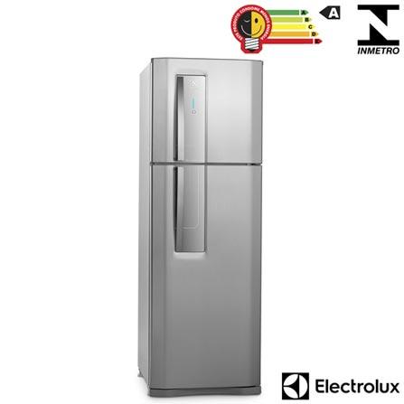 Refrigerador de 02 Portas Electrolux Frost Free com 382 Litros Painel Blue Touch Inox e Cinza - DF42X, 110V, 220V, Inox, 02 Portas, 02 Portas, Não, De 351 a 500 litros, 382 Litros, 288 Litros, 94 Litros, Sim, Não, Sim, Não, Sim, Não se aplica, Não, Não, Não, Não especificado, Não especificado, Não, Sim, Sim, Não, A, 51 kWh/mês, 12 meses