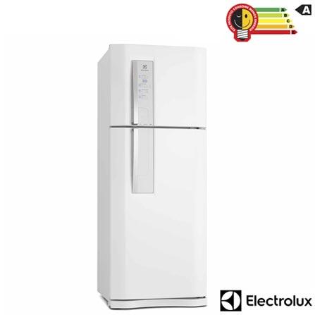 Refrigerador de 02 Portas Frost Free Electrolux com 427 Litros Branco - DF51, 110V, 220V, Branco, 02 Portas, 02 Portas, Não, De 351 a 500 litros, 427 Litros, 427 Litros, 113 Litros, Sim, Sim, Sim, Sim, Não, Não se aplica, Não, Sim, Não, 01, Vidro temperado removíveis, Não, Não, Sim, Sim, A, 57 kWh/mês, 12 meses