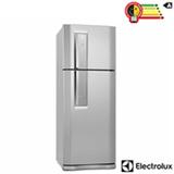 Refrigerador de 02 Portas Electrolux Frost Free com 427 Litros e Painel Eletrônico Inox e Cinza - DF51XFBA
