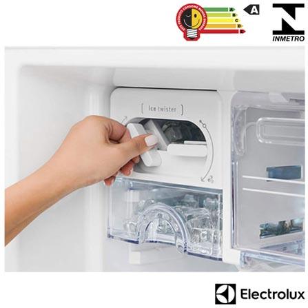 Refrigerador de 02 Portas Frost Free Electrolux com 459 Litros Inox e Cinza - DF52X, 110V, 220V, Inox, 02 Portas, 02 Portas, Não, De 141 a 350 litros, 459 Litros, 356 Litros, 113 Litros, Sim, Sim, Sim, Sim, Não, Não se aplica, Não, Não, Não, 01, Removíveis, Não, Não, Sim, Sim, A, 58 kWh/mês, 12 meses