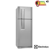 Refrigerador de 02 Portas Frost Free Electrolux com 459 Litros Inox e Cinza - DF52X