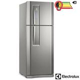 Refrigerador de 02 Portas Electrolux Frost Free com 427 Litros com Ice Twister e Drink Express, Inox - DF53X