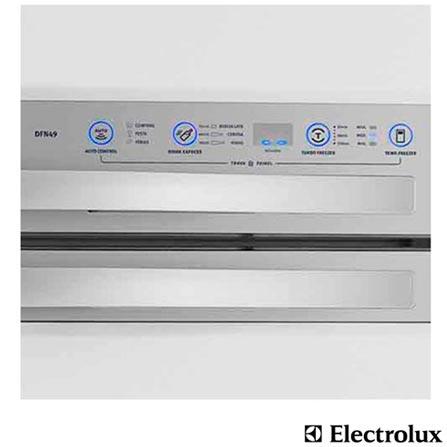 Refrigerador Electrolux Celebrate Blue Touch-DFN49, 110V, 220V, 02 Portas, 02 Portas, Sim, 402 Litros, 110 Litros, 292 Litros, 59 kWh/mês, Branco, De 351 a 500 litros