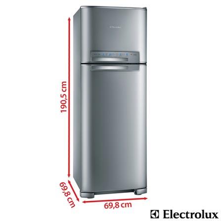 , 110V, 220V, 02 Portas, 02 Portas, Sim, 430 Litros, 110 Litros, 320 Litros, 62 kWh/mês, Inox, De 351 a 500 litros