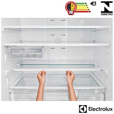 Refrigerador Frenchdoor Electrolux de 03 Portas Frost Free com 579 Litros Painel Eletronico Inox - DM83X, 110V, 220V, Inox, Freezer Invertido, 03 Portas, Não, Acima de 500 litros, 579 Litros, 391 Litros, 188 Litros, Sim, Não, Sim, Não, Sim, Não, Não, Não se aplica, Sim, 02, Vidro temperado removíveis, Não, Sim, Sim, Sim, A, 75 kWh/mês, 12 meses