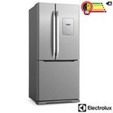 Refrigerador Frenchdoor Electrolux de 03 Portas Frost Free com 579 Litros Painel Eletronico Inox - DM83X
