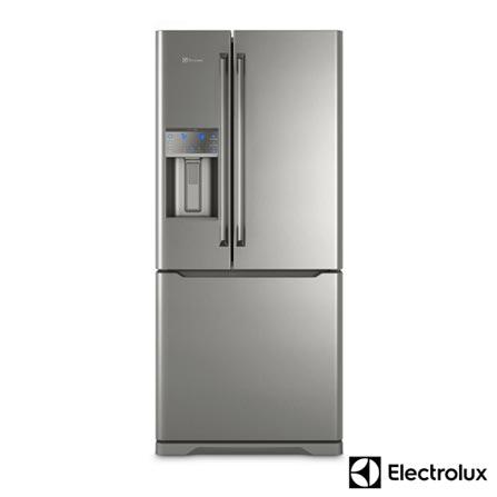 Geladeira/refrigerador 538 Litros 3 Portas Inox - Electrolux - 110v - Dm86x