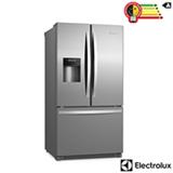 Refrigerador French Door de 03 Portas Frost Free Electrolux com 634 Litros Inox e Cinza - FDI90