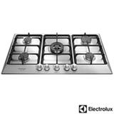 Cooktop à Gás Electrolux Home Pro com 05 Bocas, Acendimento superautomático e Master Chama - GF90X