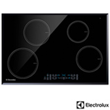 Cooktop por Inducao de 04 Bocas Electrolux com Acendimento Eletronico, 09 Niveis de Potencia, Painel Blue Touch - IC80