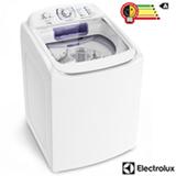 Lavadora de Roupas Electrolux 17 Kg Turbo Lavagem Branca com 12 Programas de Lavagem e Perfect Dilution - LAI17