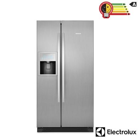 Refrigerador Side by Side Electrolux Home Pro de 02 Portas Frost Free com 504 Litros Painel Blue Touch Inox - SS91X, 110V, 220V, Inox, Acima de 500 litros, 504 Litros, 170 Litros, 334 Litros, 70 kWh/mês, Sim, Sim, Sim, 12 meses, 02 Portas, Side by Side, A