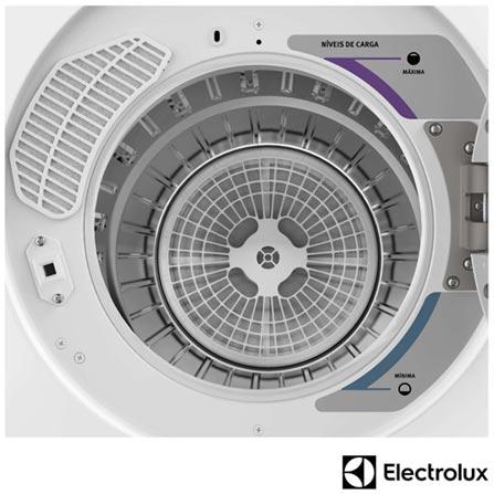 Secadora de Roupas Electrolux de Piso ou Parede com 10 Kg de Capacidade e 12 Programas de Secagem Branco - SVP10, 110V, 220V, Branco, Aço Inox, Até 10 kg, 10 kg, Não especificado, Elétrico, 12 meses, 12, Sim