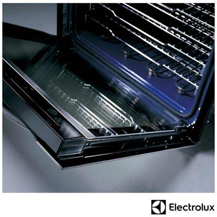Forno Elétrico de Embutir Electrolux com Capacidade de 119 Litros Painel Wave Touch Inox Icon - WOI76, 110V, Inox, Embutir, Elétrico, Acima de 60 litros, 119 Litros, Inox, Não, Eletrônico, Sim, Touch, Sim, Não, Não, Sim, Sim, Não especificado, Não especificado, Não especificado, Não se aplica, 12 meses