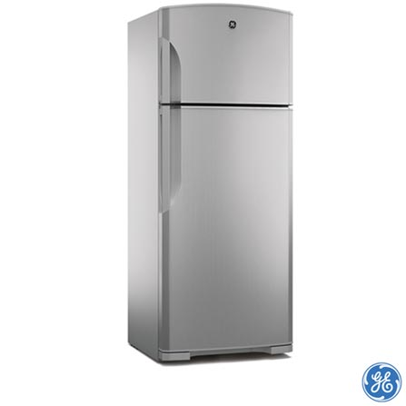 Refrigerador Frost Free GE 460 RFGE460MDA Inox, 110V, 220V, 02 Portas, De 351 a 500 litros