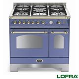 Fogão de Piso Dolcevita Azul com 90cm Lofra - RLVD96