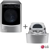 Lava & Seca LG TWINWash 17Kg - 110V - WD17VTS6 + Lavadora de Roupas LG Mini Wash 2,5kg - 110V - WD100CV