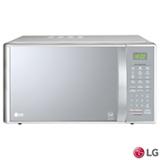 Micro-ondas LG EasyClean™ com 30 Litros de Capacidade e Grill Prata - MH7093BR