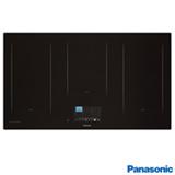 Cooktop por Indução Panasonic em Vitrocerâmico com 05 Bocas, Painel TFT LCD Touch Preto - KY-T937XLRPK