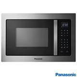 Micro-ondas de Embutir Panasonic com 28 Litros de Capacidade e Grill Cinza - NN-GB686SRUK