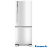 Refrigerador Botton Freezer de 02 Portas Frost Free Panasonic com 423 Litros Branco - NRBB52PV2W