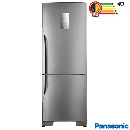 Geladeira/refrigerador 480 Litros 2 Portas Aço Escovado - Panasonic - 220v - Nr-bb71pvfxb